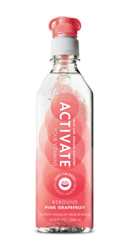 ACTIVATE Rebound, Pink Grapefruit, 16.9-Ounce Bottles (Pack of 12) by Activate