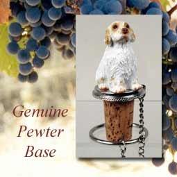 Clumber Spaniel Dog Wine Bottle Stopper - DTB116