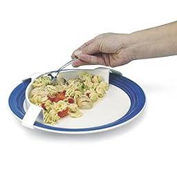 Alimed Food Plate Bumper, White - 1 Each