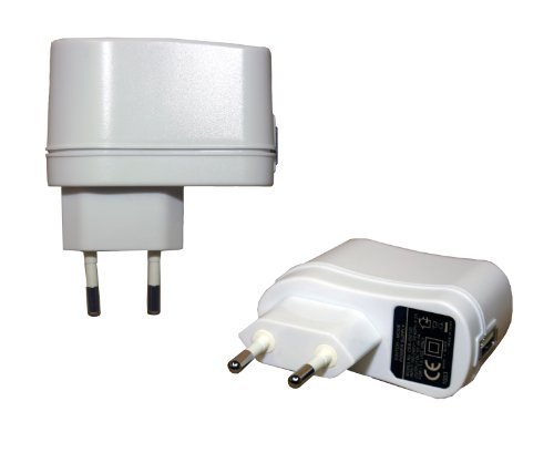 230V USB-Netzteil weiss für Kindle