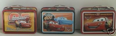 Disney Pixar Cars Mini Tin Lunch Box - 1