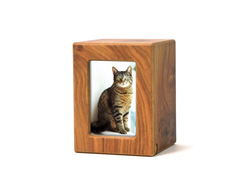 Near & Dear Pet Memorials MDF Photo Urn, 25 Cubic