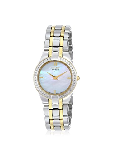 Citizen Women's EG3154-51D Eco-Drive Two-Tone Stainless Steel Watch
