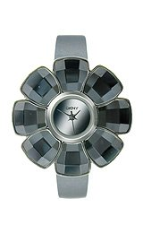 DKNY Floral-Shaped Leather Strap Women's watch #NY2120