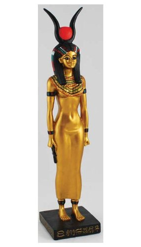 Egyptian Statue: Isis Standing Figurine