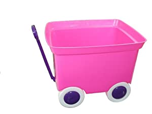 Romanoff Pull Wagon, Hot Pink by Romanoff
