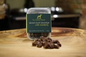 the-innocent-hound-sliced-duck-sausage-gourmet-treat-with-cranberry-100gm