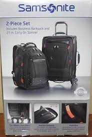 The Samsonite Prowler Two Piece Business Set