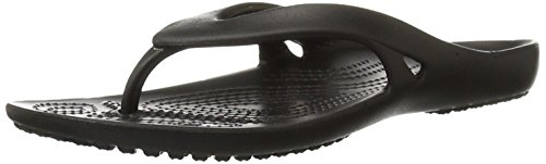 Crocs Women's Kadee II Flip, Black 7 W
