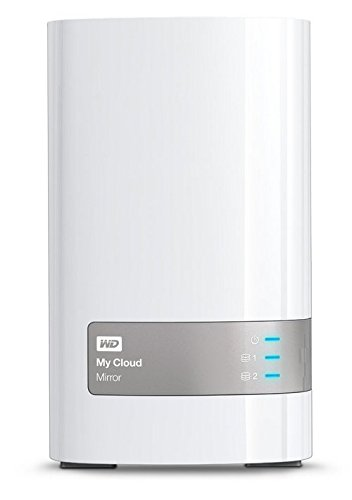 WD My Cloud Mirror 12TB External Network Attached Storage
