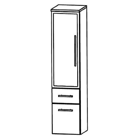 Perfect Speed Medium Cupboard (MNA883BL/R) Furniture, 30 cm