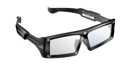 ViewSonic PGD 250 Active Stereographic 3D Shutter Glasses for ViewSonic DLP Link 120Hz 3D Ready Projectors Black