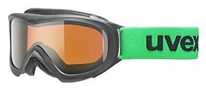Uvex Kids Wizzard DL Ski Google - Black, Size 2