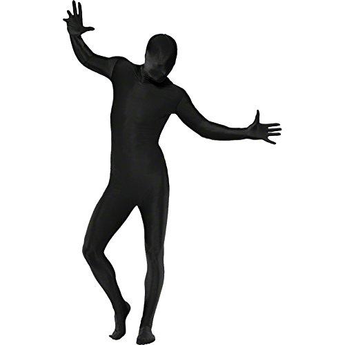 Smiffy's - Costume intero aderente per travestimento, taglia: L, colore: Nero