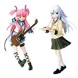 Angel Beats! ( エンジェル ビーツ ) シーンフィギュア かなで ( 天使 ) ・ ユイ 全2種セット