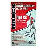 Oreck Paper Bag, Oreck Type Cc Uprights With Bag Dock (Pack of 8)