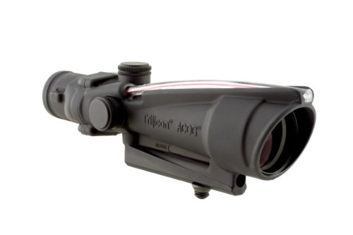 Acog 3.5 X 35 Scope Dual Illuminated Donut .223 Ballistic Reticle, Red