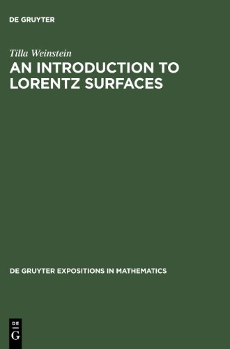An Introduction To Lorentz Surfaces (Technological Innovation And Human Resources,)