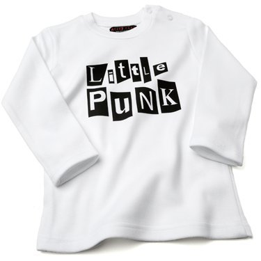 Little Punk Baby/Kids Rock Bubblegum Pink T-shirt