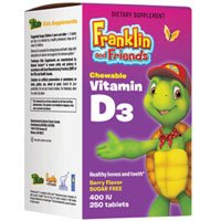 Natural Factors Treehouse Franklin And Friends Vitamin D3 400Iu, 15Ml, 1.7 Fluid Ounce