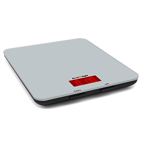 Accuweight Electronic Home Scales Digital Kitchen Food Scale Weight Max 5000g / 11lbs (Electronic Weight Kitchen compare prices)