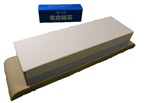 Discover Bargain Suehiro Japanese Whetstone Sharpening Water Stone Knife Sharpener #1000/3000 and Ki...