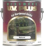 Messmers' UV Plus for Hardwood Decks - Natural - Low VOC - 1 Gallon