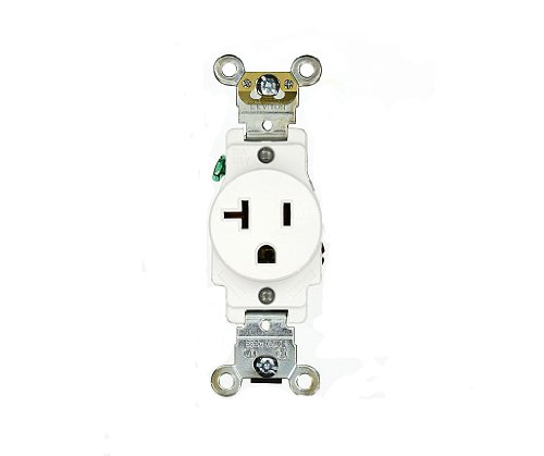 Commercial Electrical 20 Amp, Single Receptacle