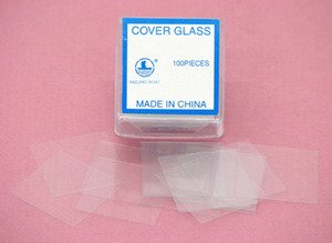 Cover Slips Glass for Microbiology 24mm x 40mm 100/box by Scientific Equipment Of Houston