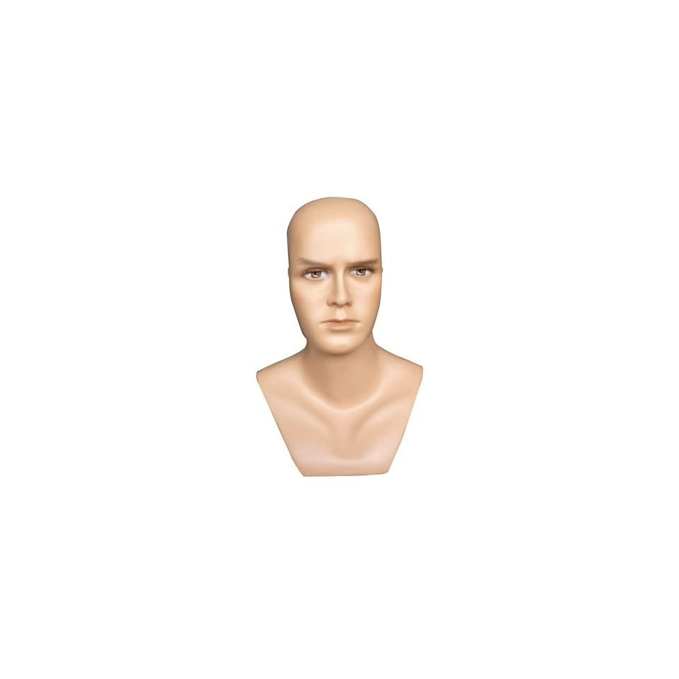 New Male Mannequin Head Display Bust For Glasses, Scarfs and Hats H9