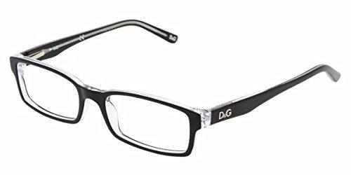 D&G Dd1180 Eyeglasses-675 Black/Clear-53Mm