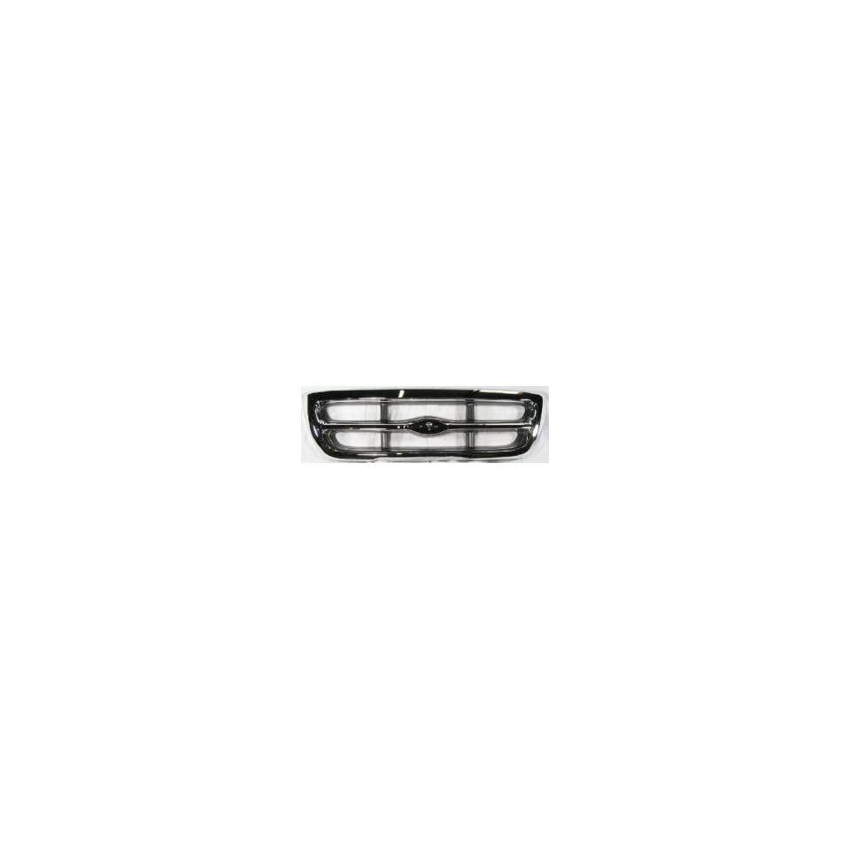 TKY FD07147GC DK5 Ford Ranger Chrome Replacement Grille