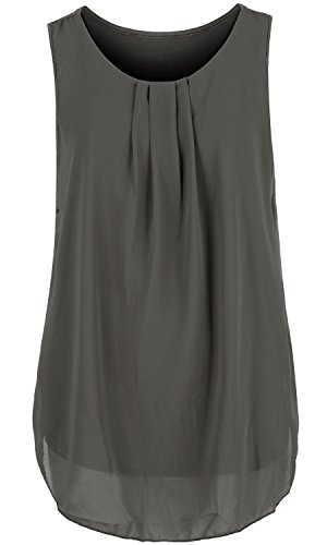 ililily-solid-color-semi-sheer-pleated-front-chiffon-boxy-sleeveless-blouse-top-tshirts-260-4