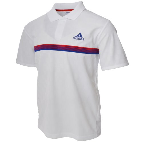Adidas Mens Adipure Tennis Polo Shirt - White - O04828