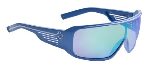 Spy Optic Tron Sunglasses - Color: Matte Cobalt Turquoise Multi
