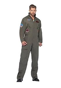 Plus Top Gun Jumpsuit (2X)