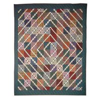 Patch Magic 50-Inch by 60-Inch Rocky Top Throw