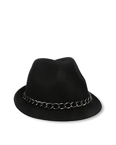 Giovannio Women's Chain Hat, Black