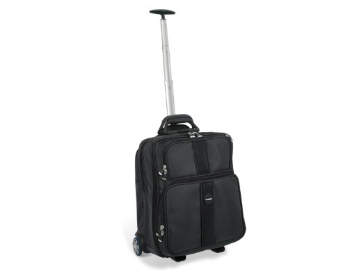 Kensington 62903 Contour Overnight Roller Suitcase and Notebook Carrying Case