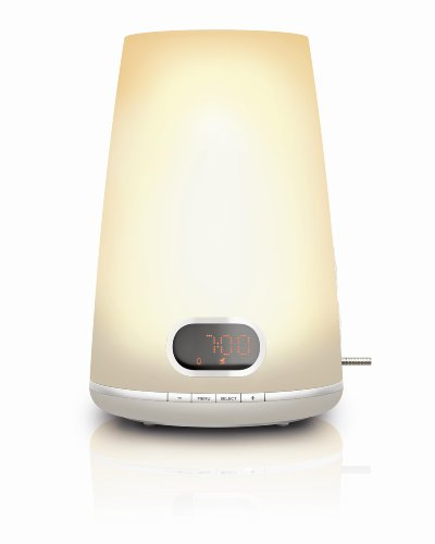 Philips HF3470/01 Wake-up Light inklusiv digitalem FM Radio