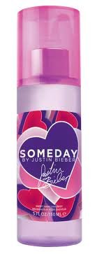 Someday by Justin Bieber Hair Mist