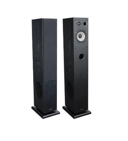 Advance Acoustic K5BA Paire d'enceintes colonne 3 voies Série Kubik Boomer 17 cm 100 W 90 dB 8 Ohms Frêne Noir