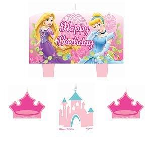 Disney Princess Cake Candle Set (4pc) - 1