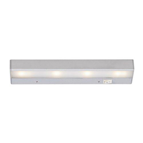Wac Lighting Ba-Led4-Sn Ledme 12-Inch Under Cabinet, Satin Nickel Finish