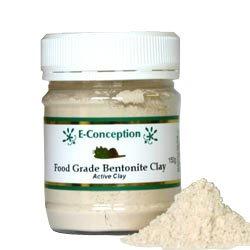 食品グレード ベントナイトクレイ 150g 主成分モンモリロナイト