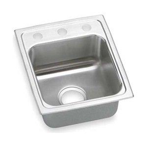 Drop In Sink, Stainless Steel, 18 Gauge