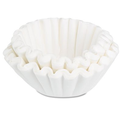 Coffee Filters, 10/12-Cup Size, 100 Filters/Pack