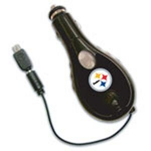 Pittsburgh Steelers Retractable Car Cell Phone Charger