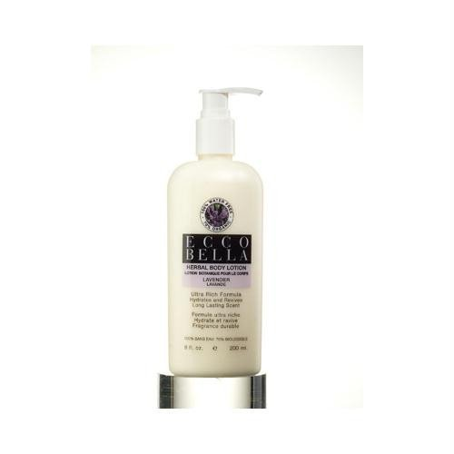 エコベラ Herbal Body Lotion Lavender 8 fl oz