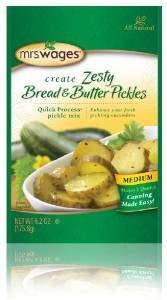 Mrs. Wages Zesty Bread & Butter Pickle Mix, 6.2 Oz (Pack of 3) (Bread Butter Pickles compare prices)